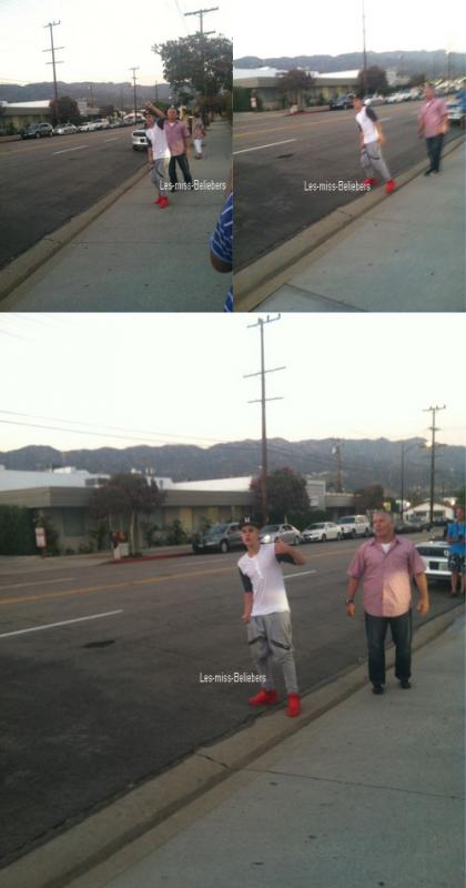 Photos et vidéos diverses de Justin