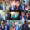 Justin avec les fans