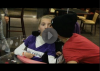 Justin rend visite à Megan