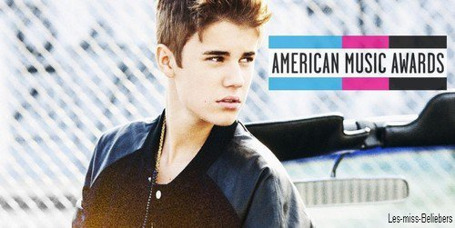 Justin nominé aux American Music Awards