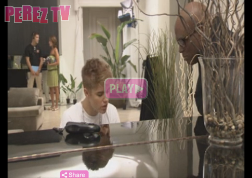 Interview de Justin + Vidéos à X Factor