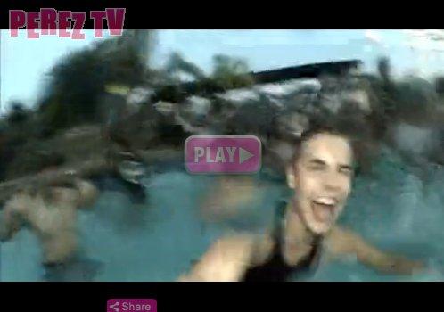 Une autre vidéo de Justin crée le buzz