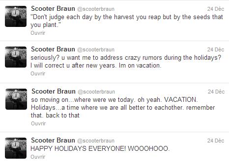 Une rumeur de plus sur Justin...