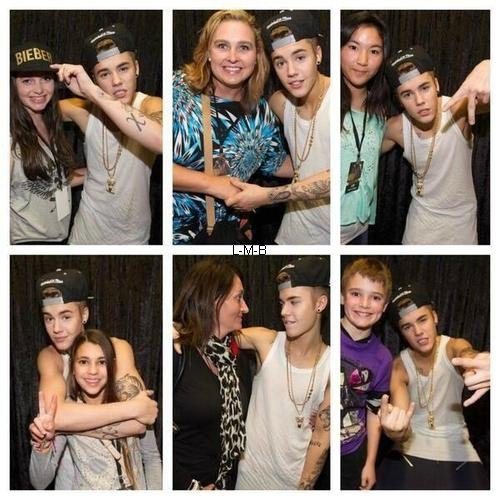 Photos de Justin + Vidéos pour Motorola Brasil