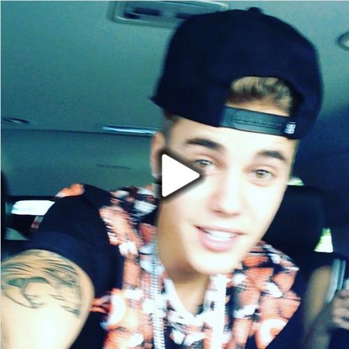 Photos et vidéo de Justin + Photo et vidéo postée sur Instagram + Extrait de Wait for a minute ft Tyga