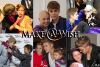 Un record de voeux pour Justin pour l'association Make-a-Wish