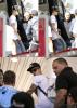 Justin à l'aéroport de Los Angeles et avec des fans