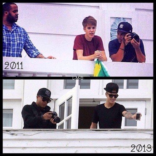Photo et vidéos diverses de Justin + Vidéo postée sur Viddy et vidéo avec lyrics de Recovery