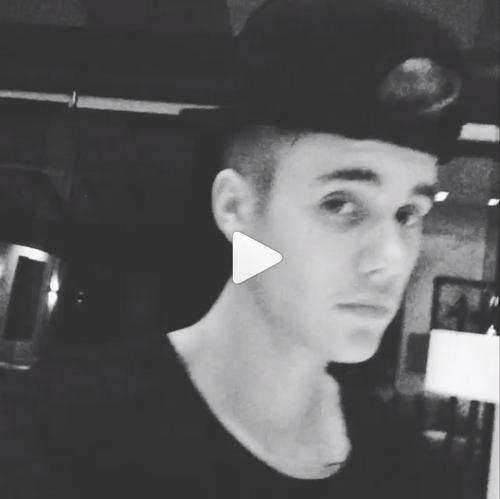 Photo et vidéos postées par Justin sur Instagram