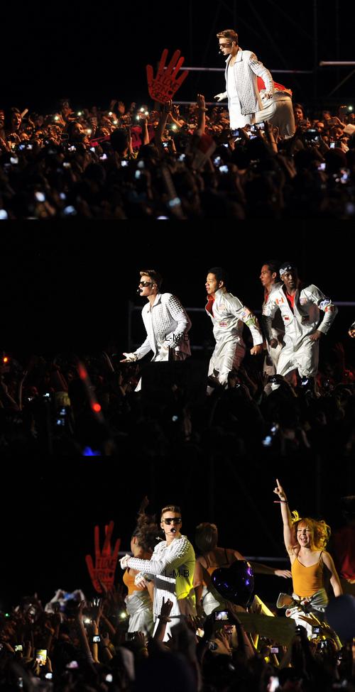 Justin à Santiago (Chili) - 12.11.2013
