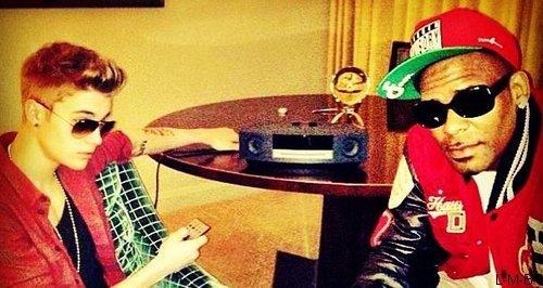 Collaboration entre Justin et R. Kelly