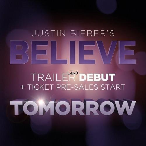 Photos et vidéo de Justin + 3ème extrait de Believe