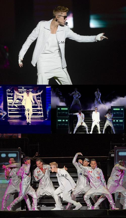 Justin à Mexico (Mexique) - 18.11.2013