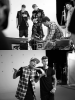 Photos du Behind the scenes de la vidéo de Wait for a minute