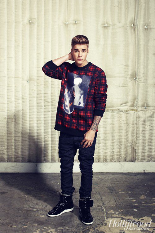 Photoshoot de Justin pour The Hollywood Reporter