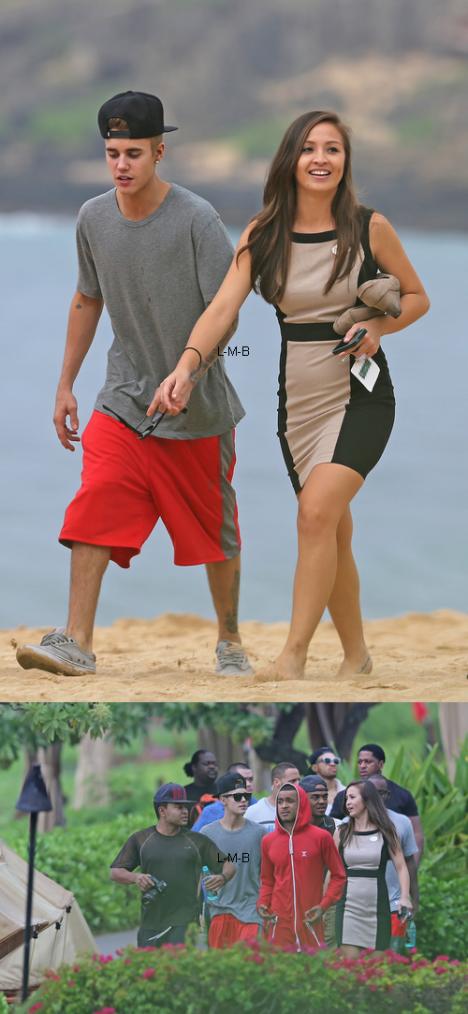 Justin à Hawaï