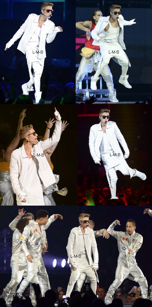 Justin à Brisbane (Australie) - 27.11.2013