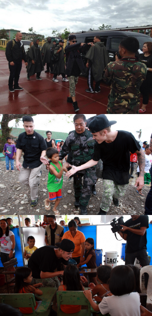 Justin aux Philippines