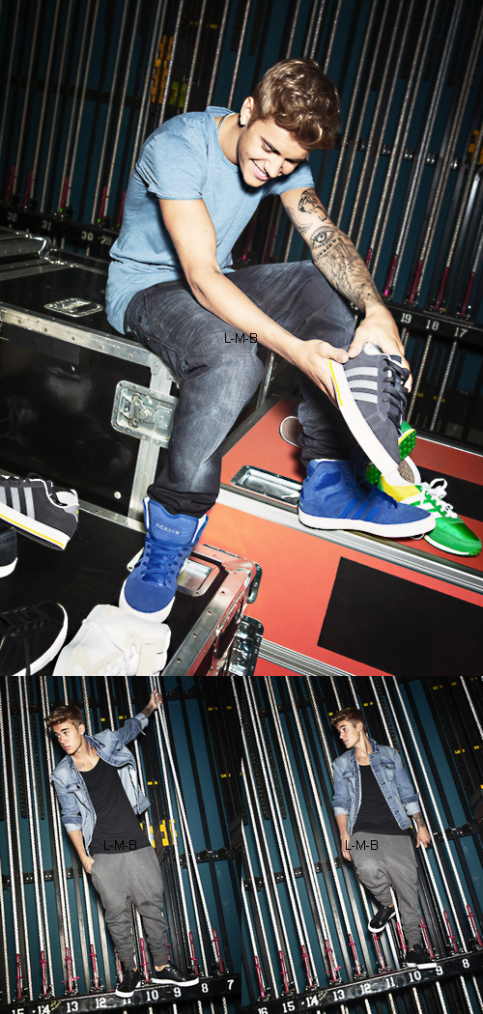 Autres photos du photoshoot pour Adidas NEO