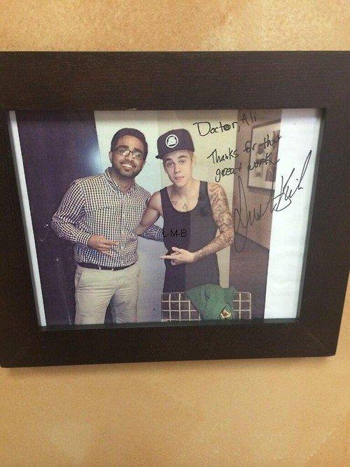 Photos et vidéo de Justin (suite) + Photos et vidéo postées sur Instagram