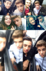 Justin saluant les fans à New York