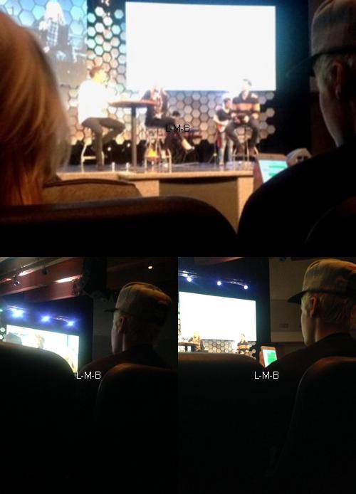 Photos et vidéo de Justin + Post sur Fahlo