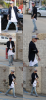 Justin sur la promenade de Malibu