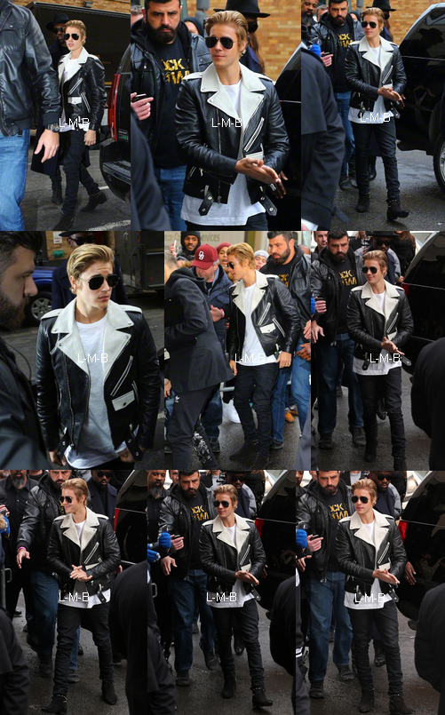 Justin au Kanye West's Fashion Show