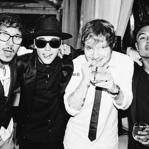 Photos postées par Justin sur Instagram et Fahlo