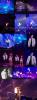 Justin sur scène avec Ariana Grande à Miami
