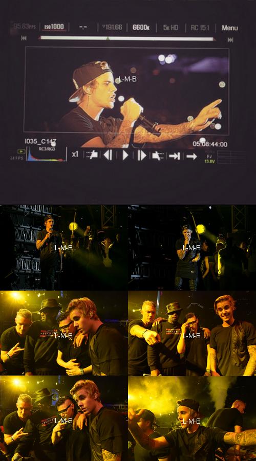 Justin à l'ULTRA Music Festival à Miami