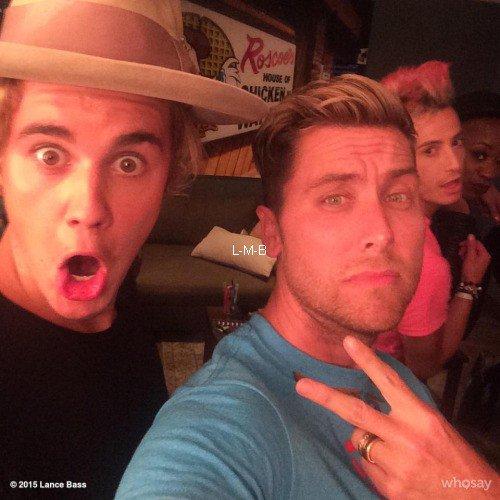Photos de Justin + Vidéos postées sur Instagram