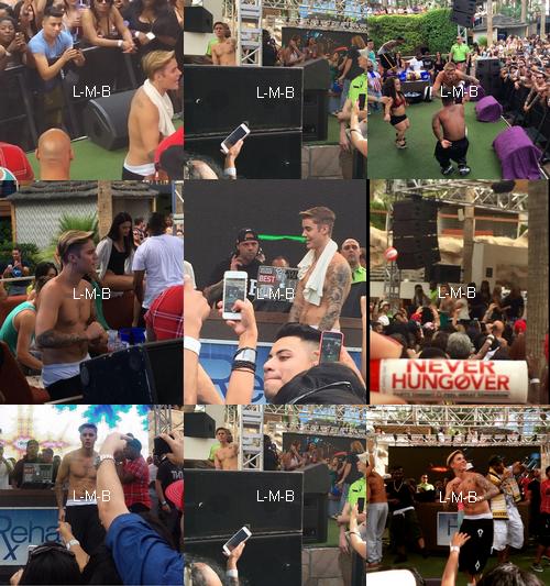 Photos et vidéo de Justin (suite) + Vidéos postées sur Shots of me