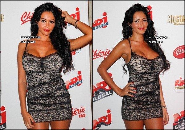 Nabilla etait presente a la conference de presse de Nrj12 ♥
