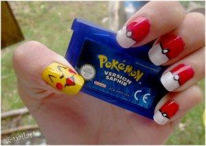 Nail art - Pokémon