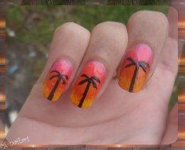 Nail art - Exotique/Eté