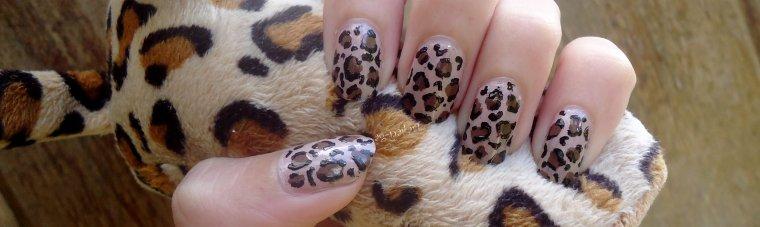 Nail art - Léopard