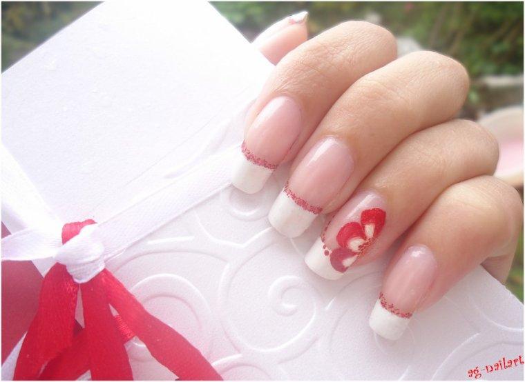 Mes nail art mariage (suite)