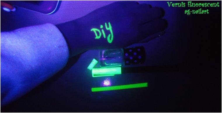 DIY : Créer un vernis Fluorescent
