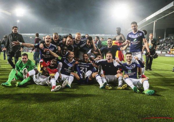LE RSCA EST CHAMPION DE BELGIQUE 16-17!