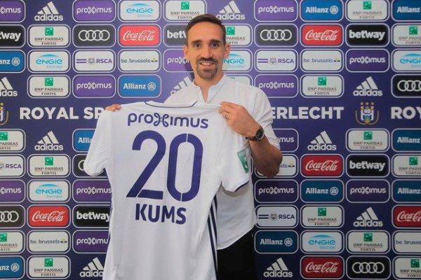 C'est officiel, Sven Kums a signé à Anderlecht