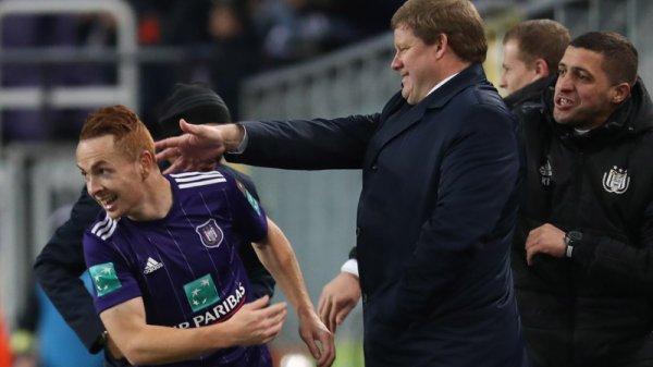 Anderlecht a battu Courtrai 4-0 dimanche dans le cadre de la 16e journée du championnat de Belgique