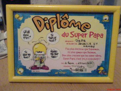 Dipl me du super papa jessica - Diplome du super papa a imprimer gratuit ...