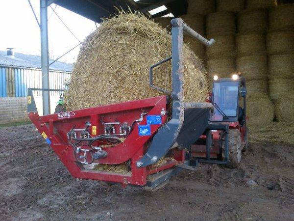 Voici le system de paillage utiliser à la ferme au 1/1 pour changer du 1/32
