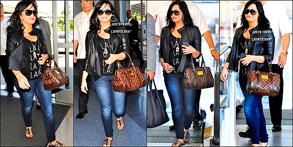 23/04/2011:Demi arrivant à l'aéroport de Chicago.