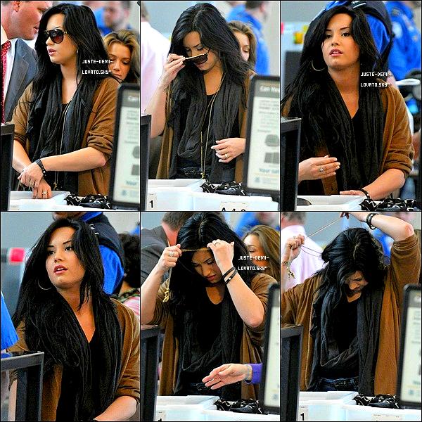 15/04/2011:Demi à l'aéroport de LAX