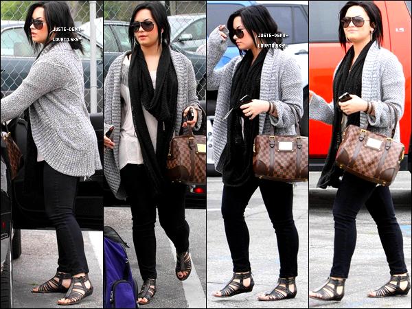 06/04/11 : Demi allait a un rendez-vous a L.A,.