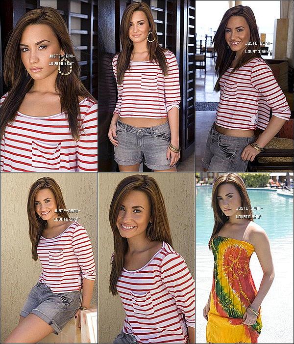 Découvres ou redècouvre un photoshoot de Demi datant de 2010.Ton avis ?