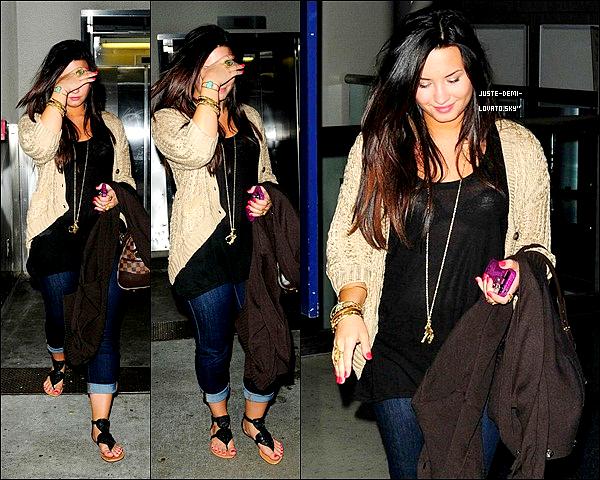 08/05/11 : Demi de retour à L.A. !