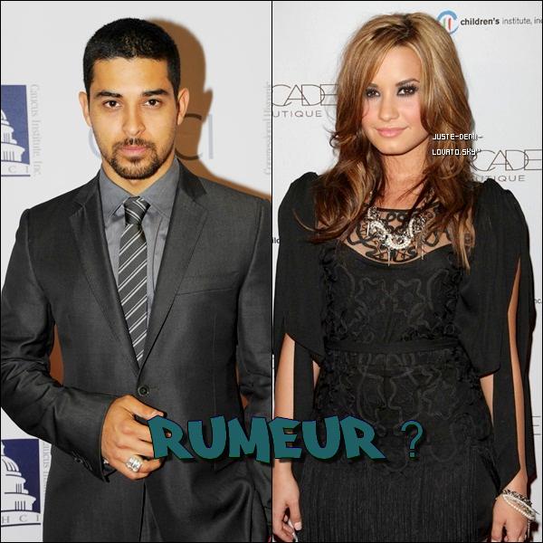 Des sources disent qu'elle est de retour dans les bras de Wilmer Valderrama. Eh bien, les deux auraient été ensemble depuis que miss Lovato aurait rompu avec Joe Jonas l'an dernier.Alors Rumeur ?